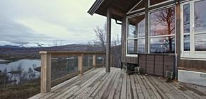 Vinterklar hytte