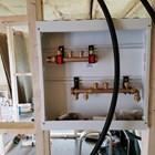 Fradeling og isolering og rørlegger/elektriker igang