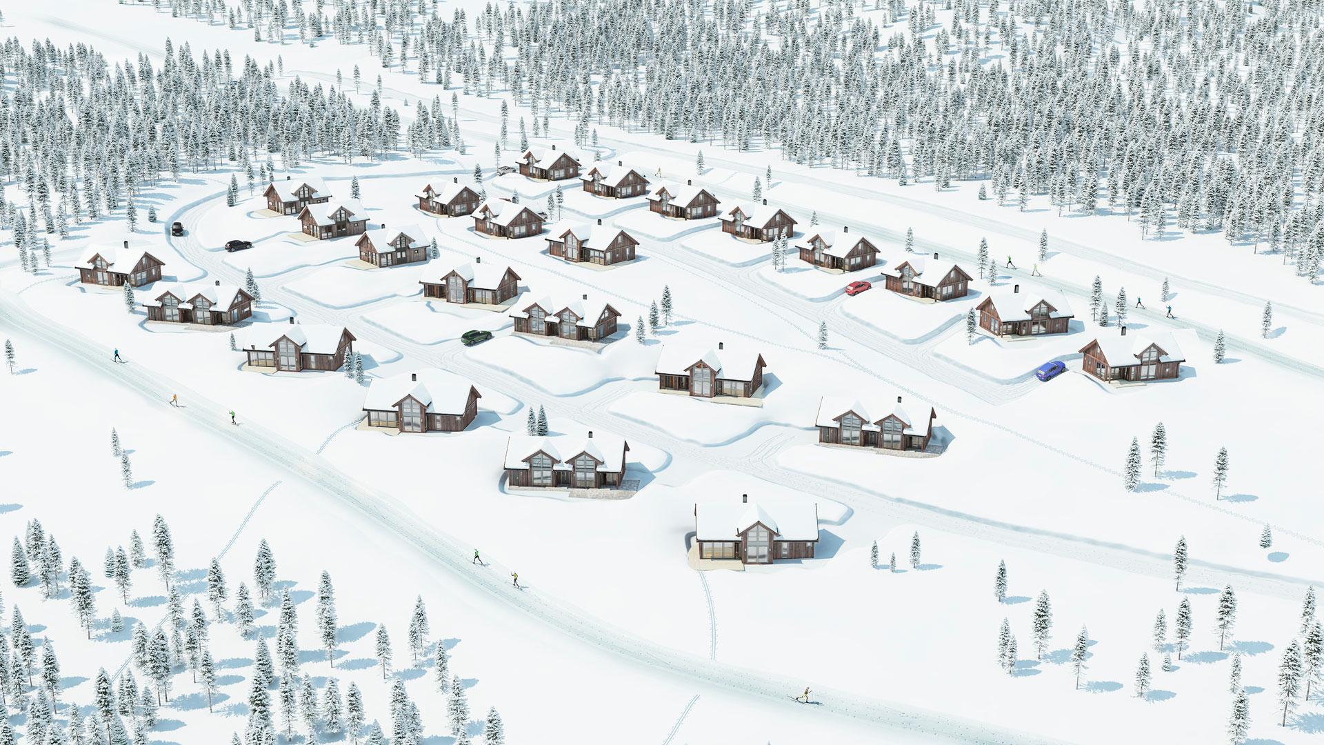 Nytt byggetrinn: Gutubakken Sør, Sjusjøen
