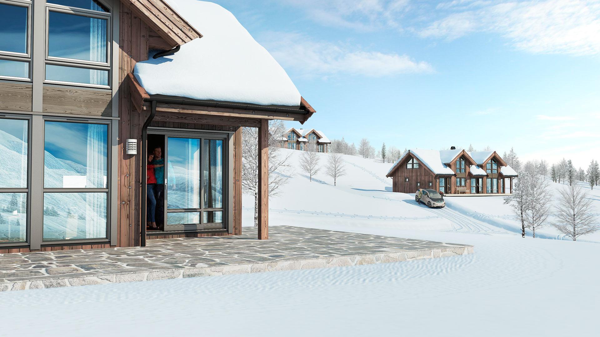 Langberga Oppdal - 17 nye hytter for salg