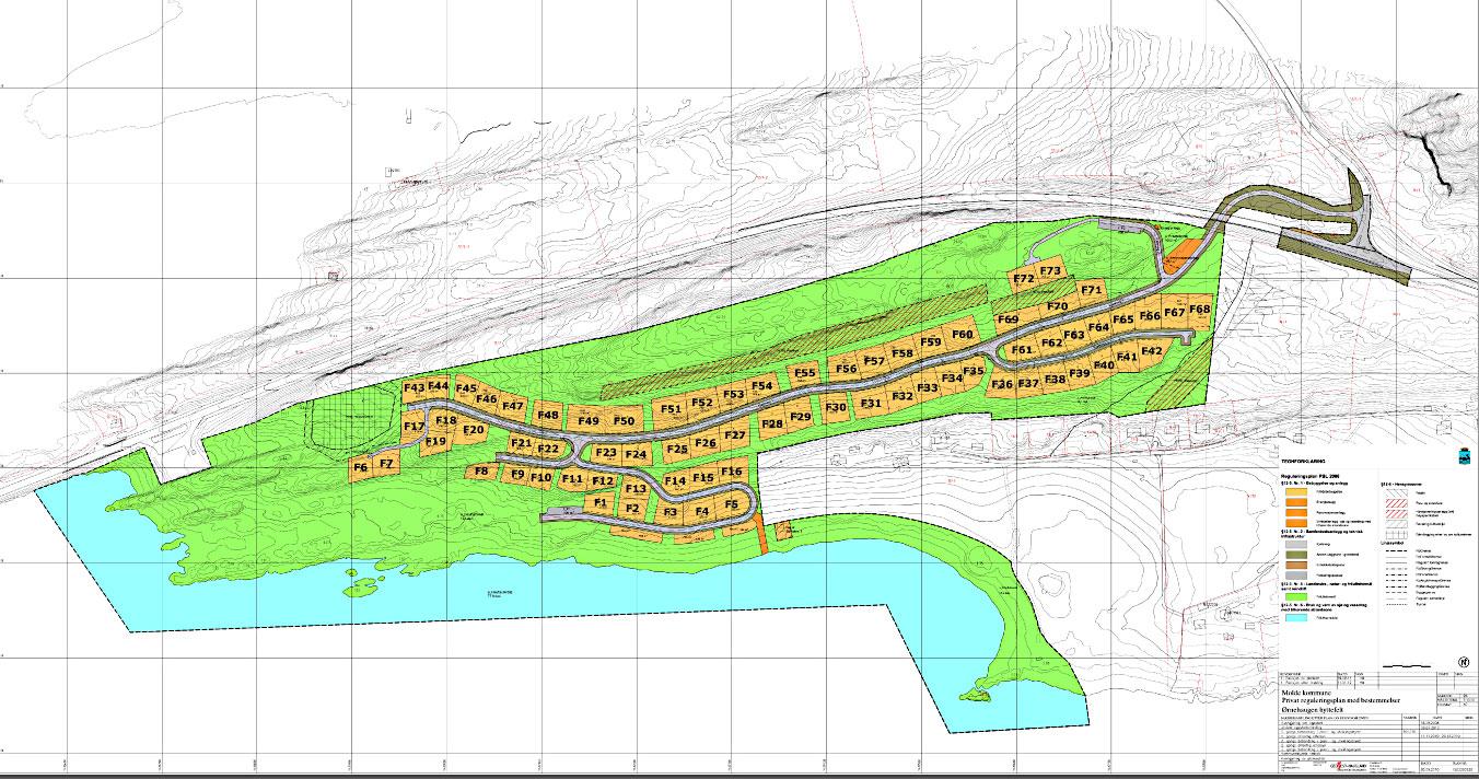 Oversiktskart Ørnehaugen