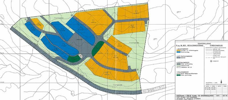 Skaret-Fjellpark-kart-hytteområde