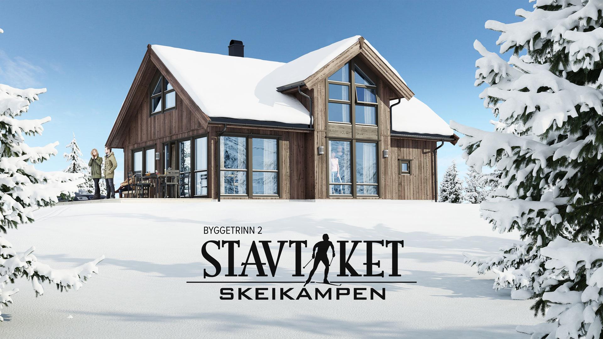 Nytt byggetrinn på Skeikampen