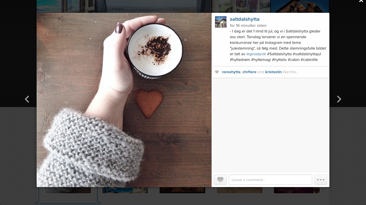 Instagram, kaffekos