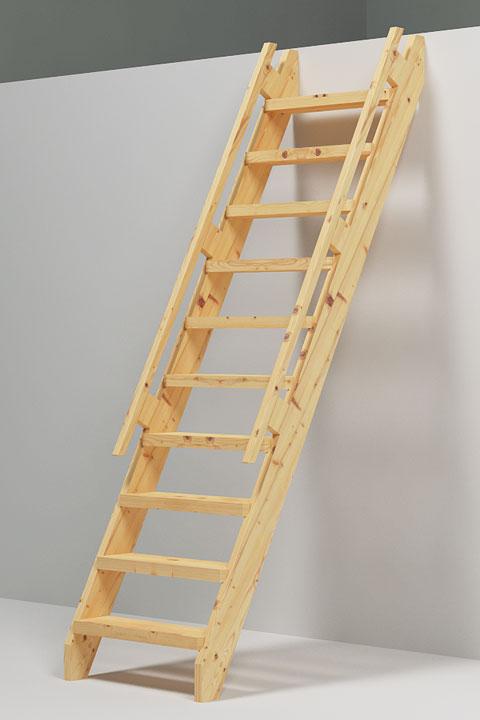 Trenger du en trappestige til hytta?